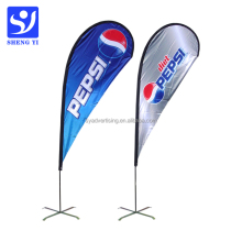 Cheap Outdoor Advertising Flying Teardrop Flag,Beach Flag