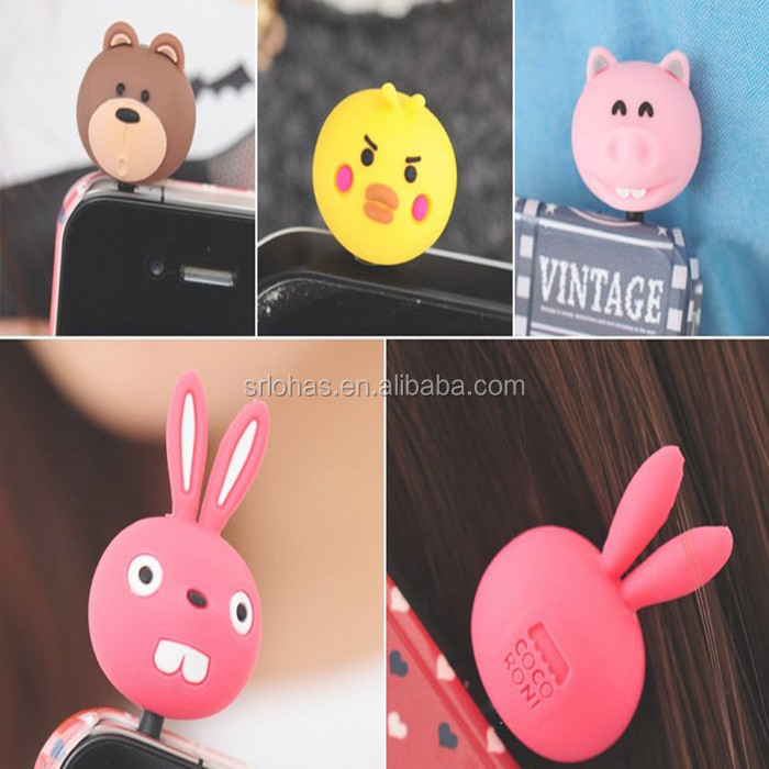 Promotion Gift Mobile Phone Accessory Mobile Dust Plugs