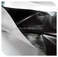 LDPE masking film black/white coex film 2.5m width 0.06mm thickness