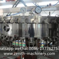Automatic Soda Carbonated Beverage Drink Filling