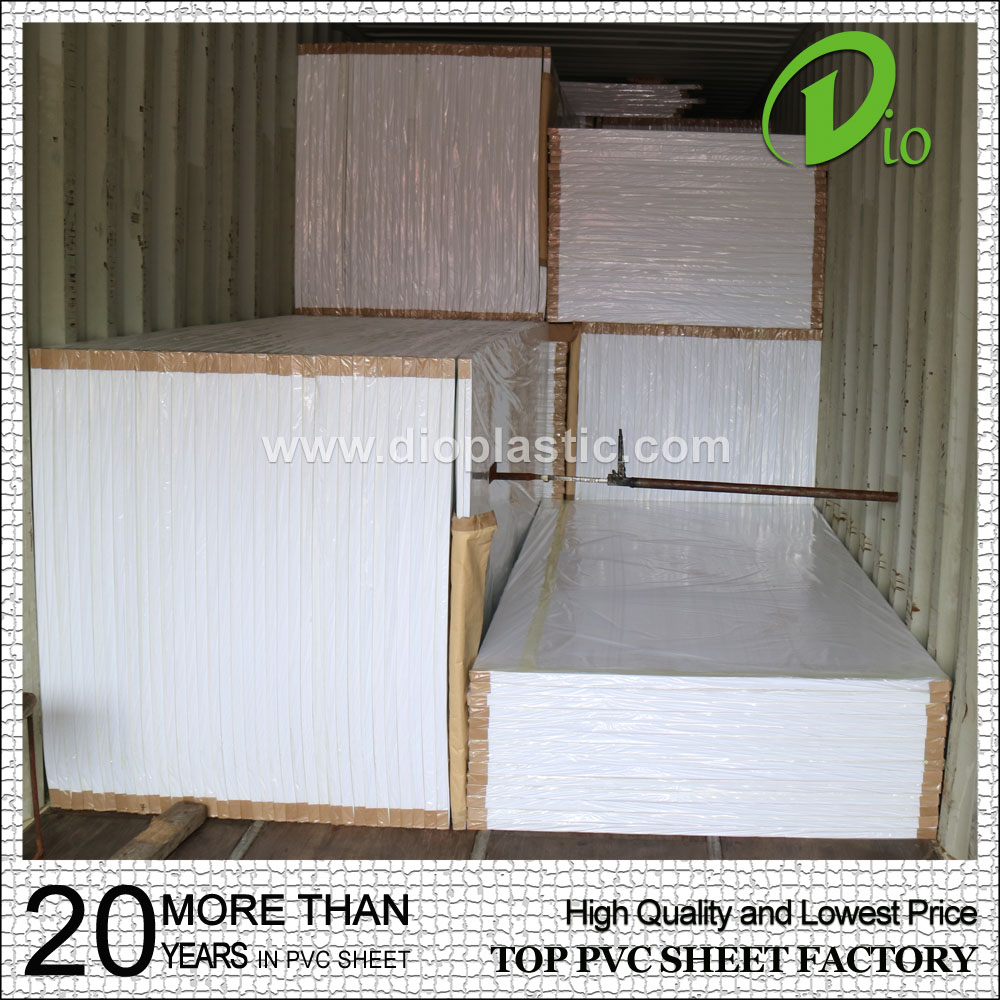 high quality 2050*3050mm color kitchen pvc foam sheet for sale