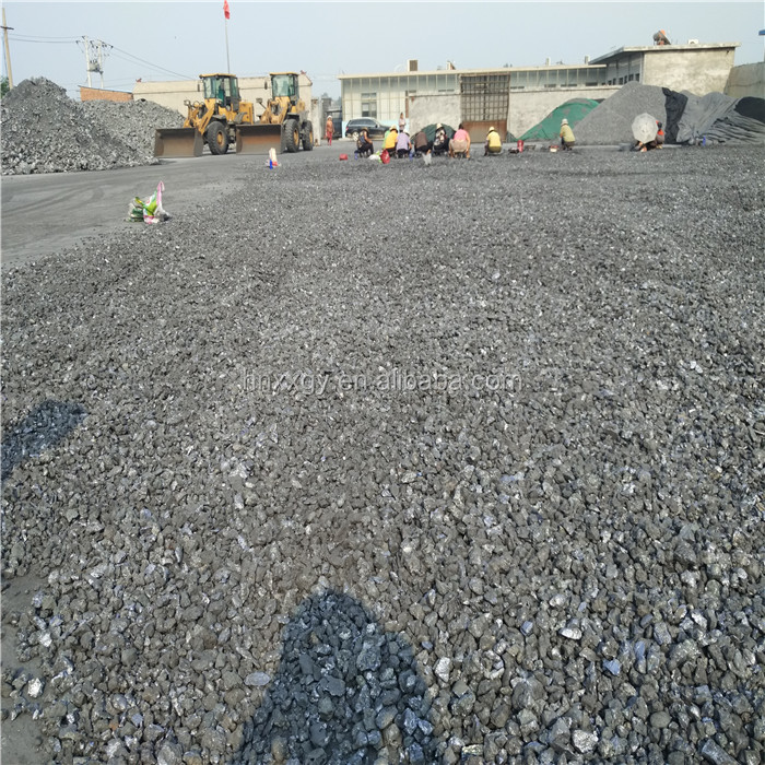 China manufacturer supply iron steel raw material bulk silicon slag price