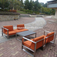 Outdoor restaurant sofa chair garden design furniture