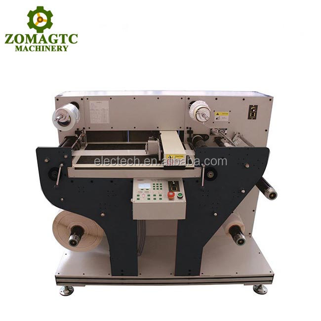 A3 Sticker Sheet Die Cutter , Auto Feed Digital Label Die Cutting Machine