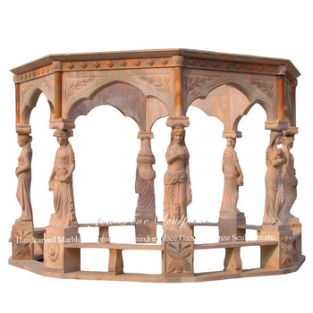 Decorating Western Style Stone Garden Gazebo For Wedding, View stone garden  gazebo, YOUFINE Product Details from Quyang You Fine Marble Carving ...