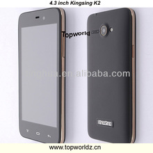 Original China phone K2 MT6572 dual core 1.3GHz IPS Capacitive Screen Android 4.2 512MB+4GB 3G