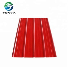 Light Weight corrugated steel roofing panels