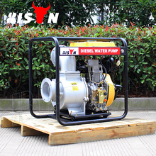 BISON(CHINA) 6 Inch Farm Irrigation Movable Long Distance Diesel Water Pump Price India
