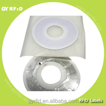 LAP-CD LEGIC ATC4096 RFID NFC CD Label for CD/DVD disk tracking system( GYRFID )