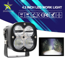 Hot Selling Square Housing 9-32V 3060LM IP67 6.3 Inch 45W LED Work Light