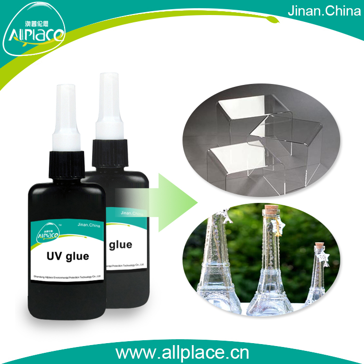 High performance clear liquid bond glass uv glue