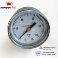 "Y40Z 1.5"" 40mm black steel case back pressure gauges cheap price"