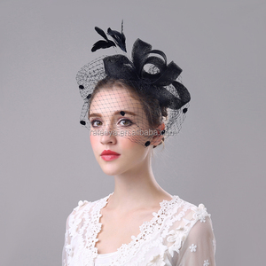 Wholesale Head Piece Bridal sinamay Fascinator for lady decoration
