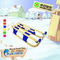 Supply wood folding kids snow sledge