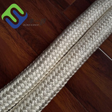 40mm white double braided nylon polyamide rope hot sale