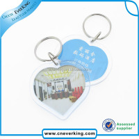 Custom wholesale cheap car shape keychain for promotion