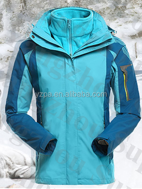 sky blue women winter jacket ladies fashion jogging suit