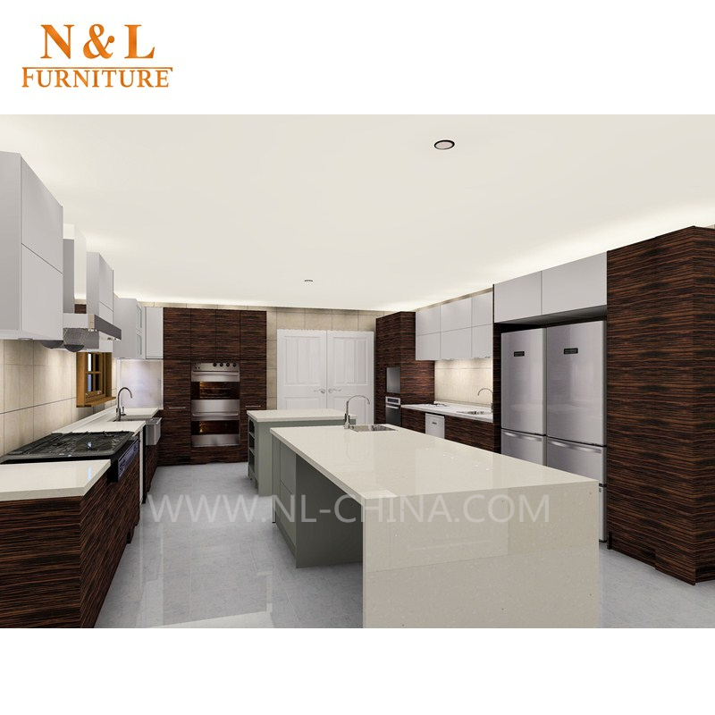 Nu0026l High Gloss Lacquer Finish Kitchen Cabinet,Black Kitchen Furniture   Buy  Kitchen Furniture,Kitchen Cabinet,Black Kitchen Furniture Product On  Alibaba.com