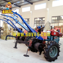 China Hot Sale Double Drum Hand Operated Tractor Winch Machine