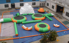 OEM giant inflatable water games park