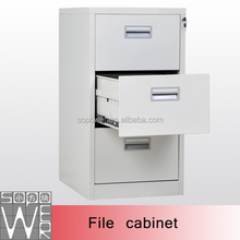Hing quality office furniture 3 drawers steel file cabinet