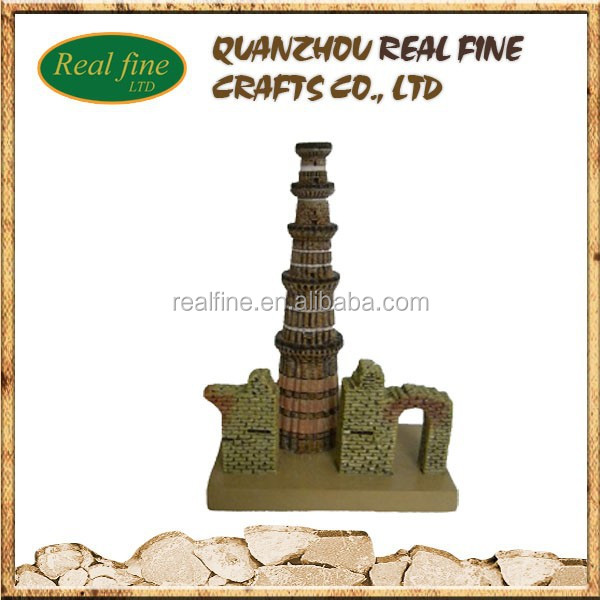 India Resin sculpture 3D Famous Building Model