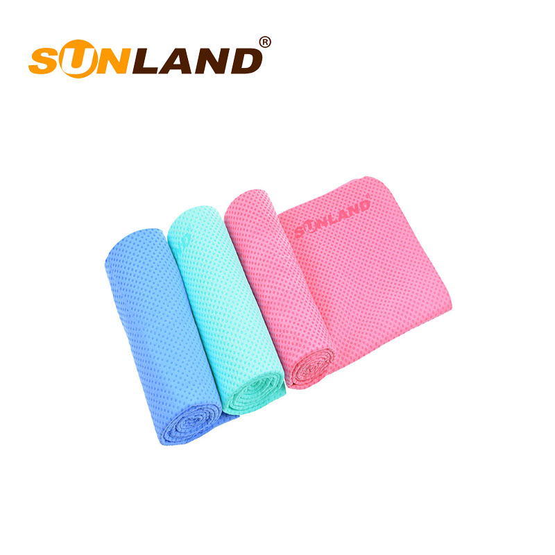 Sinland High Quality Wholesale Custom cheap microfiber instant cooling towel