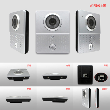Color Night Vision wifi door bell Camera Video Door Phone Doorbell Intercom Entry security system