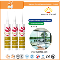 Neutral cure mastic concrete silicone sealant