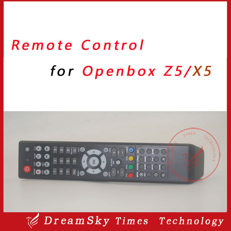 High quality Remote Control for Original Openbox X5 Z5 HD satellite receiver Openbox Z5 X5 remote controller