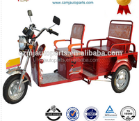 1200w 60v closed electric tricycle with generator