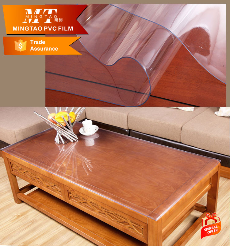 Crystal liquid clear plastic sheet pvc <strong>roll</strong> for tablecloth table cover