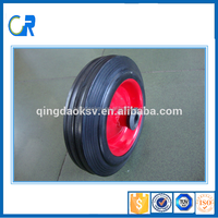 Industrial 6 inch Solid Rubber toy Wheel