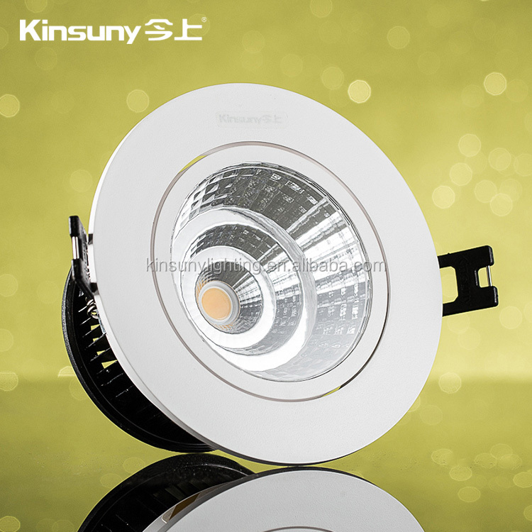 New design elegant led ceiling 5w 9w 15w factory price high quality led cob spotlight downlight