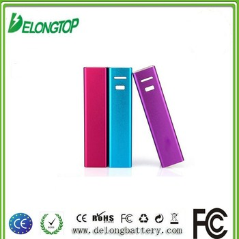 China pocket rechargeable 2600mah power bank, USB power bank charger manual