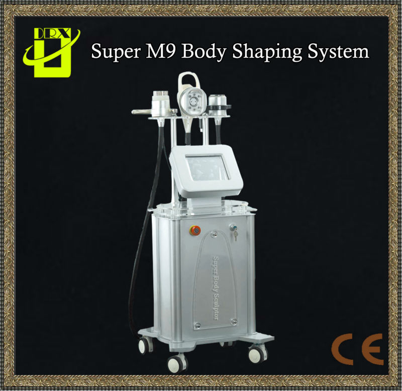 vacuum RF Body Super system ,shock wave therapy equipment