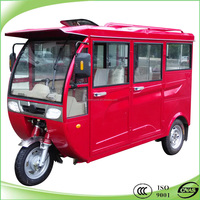 New model cng closed body three wheelers for passenger