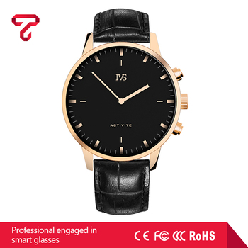 New healthy bluetooth wearable smart watch classic style black with Android 4.3 system
