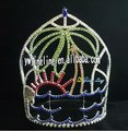 Large Summer Tree Tiara Jingling Custom Crowns