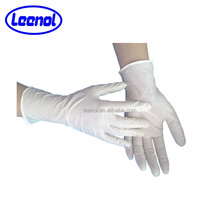 LN-8009 Consumbles Blue Medical Glove Nitrile Glove For Medical