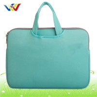13 inch light green neoprene laptop bag for girls