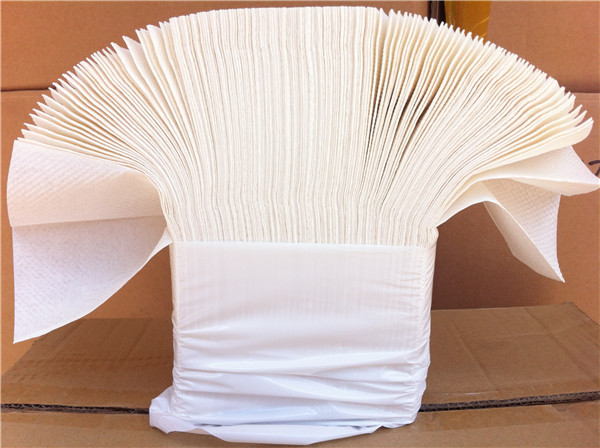 White High Quality Soft Paper Hand Towels. Strong 2 ply Z Fold Embossed Interleaved for Maximum Hygiene and Ease of Use