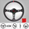 carbon fiber racing replacement steering wheel sale
