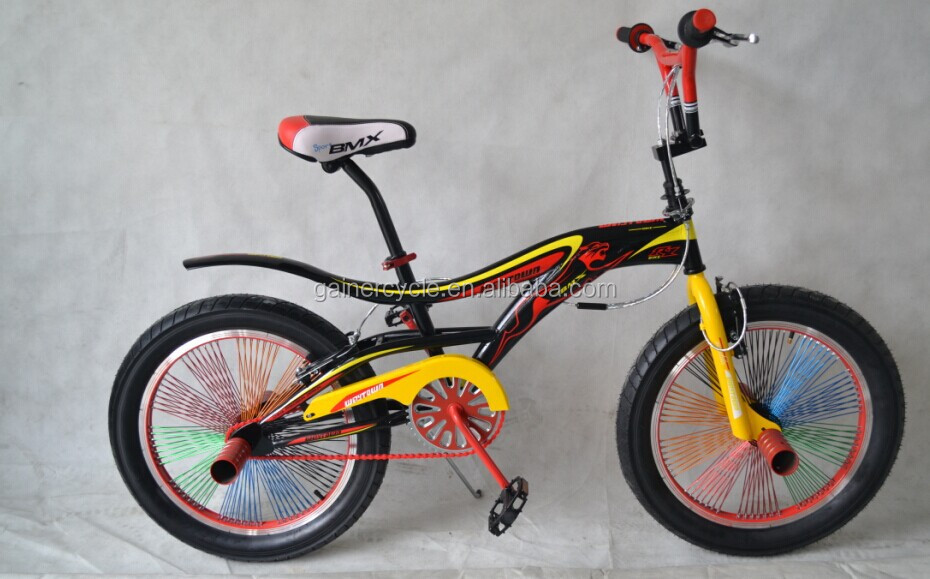 "20"" steel frame bmx bike/freestyle bicycle china supplier 2015 new design bmx bike"