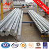 Conical HDG 16m steel utility poles for power transmission