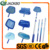 Swimming pool accessories telescopic pole for the leaf raker