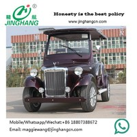 8 Seats Electric Vintage Car