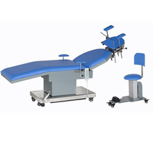 New medical Stainless Steel Electric ENT Examination hydraulic surgical operation table