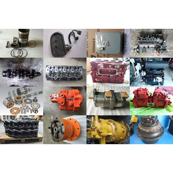 Original New D8K Complete Engine D8K Engine Assy for EC350D EC300D excavator