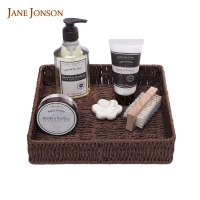 Bath and body works home bathroom bath soap gift basket set with two side brush